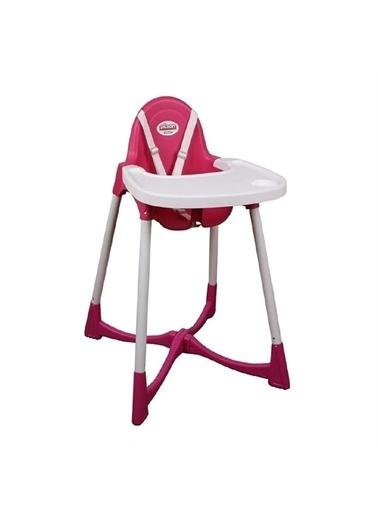 Pilsan Pilsan Pratik Mama Sandalyesi - Yıkanabilir Kılıflı Pembe